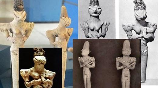 Las figurillas de los Hombres Lagarto de Ubaid