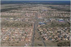 La flamante ciudad de La Punta se construyó en el Paralelo 33.